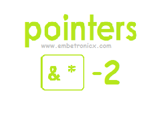 Pointers Advanced concepts in C