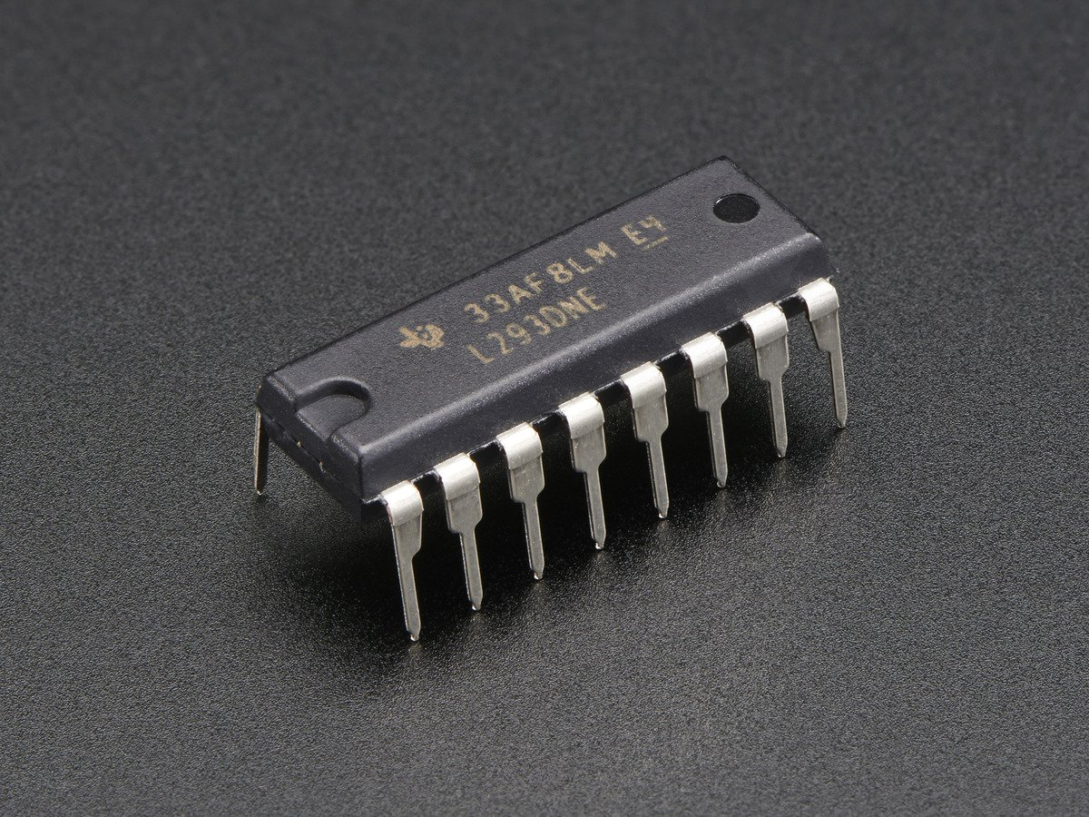 L293D Motor Driver Working