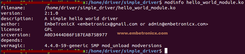 Linux Device Driver Tutorial Part 2 - First Linux Device Driver