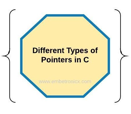 Different Types of Pointers in C