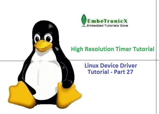Using High Resolution Timer In Linux Device Driver