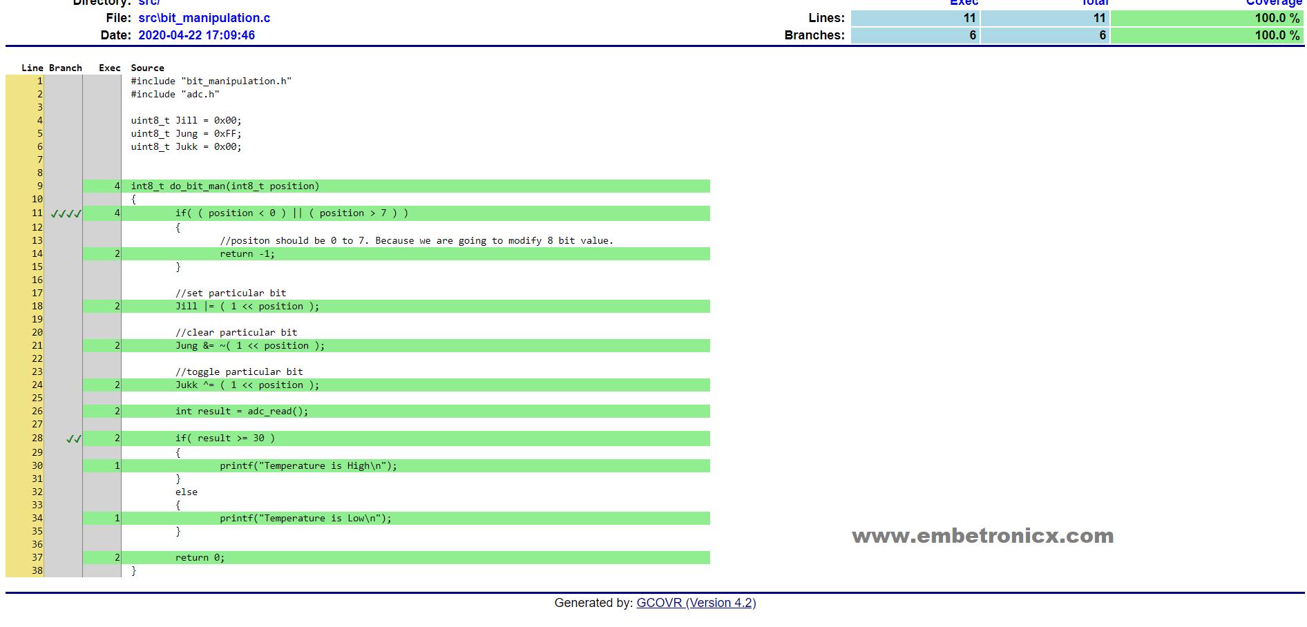 Unit Testing in C Part 5 – Mock using CMock in Embedded