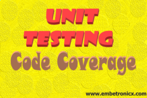 unit testing in c-code coverage