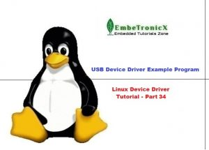 USB Device Driver Example