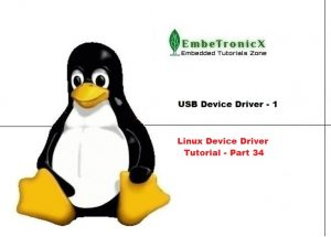 USB Device Driver Basics