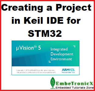 New project for STM32