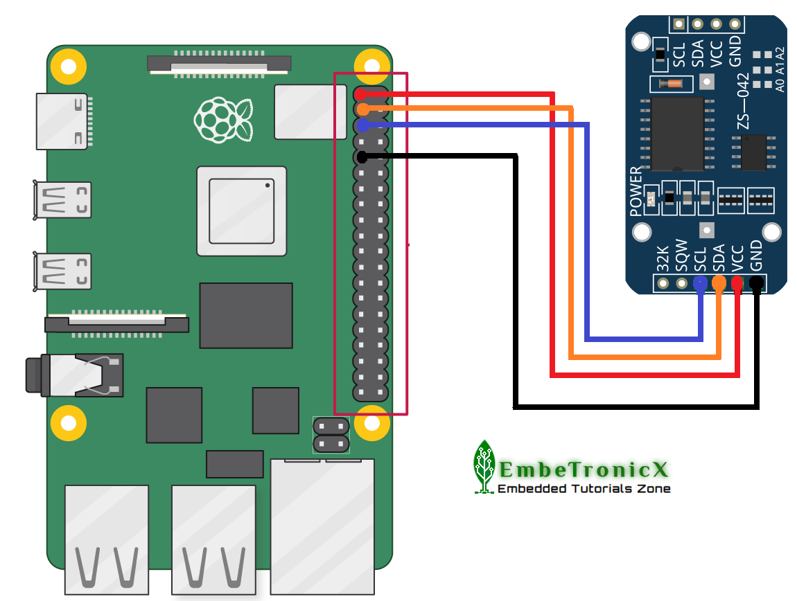 Adding a Real Time Clock to your Raspberry Pi - RTC DS3231