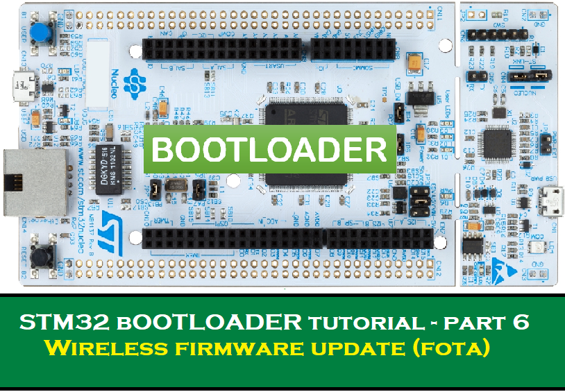STM32 Firmware Update Over the Air