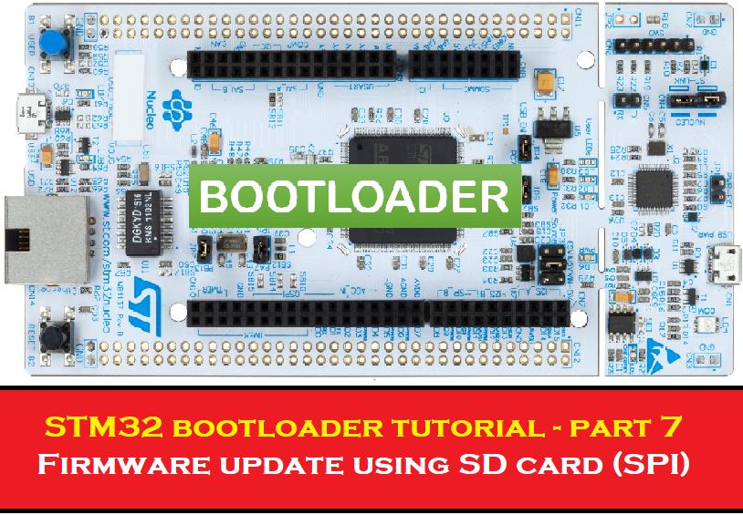 Firmware Update using SD Card